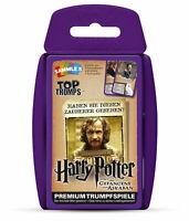Top Trumps Harry Potter und der Gefangene von Askaban Spiel Quartett Kartenspiel