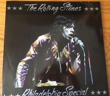 The Rolling Stones Philadelphia Special (Swingin' Pig) 2LP clear vinyl