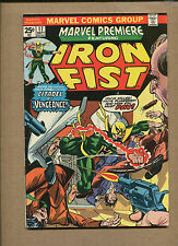 MARVEL PREMIERE #17 -3RD FIST APP! HOT!- 1974 (Grade 7.0) WH