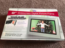 """GiiNii 8"""" Widescreen LCD Digital Slim Flat Panel Picture Frame BRAND NEW IN BOX!"""
