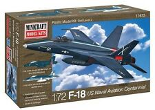 Minicraft F-18 Centennial USN Aviation With 2 Marking Options Model Kit 1/72 SC