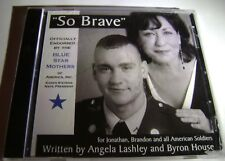 So Brave Song Music CD Angela Lashley Iraq War Veteran Son US Army Military Mom