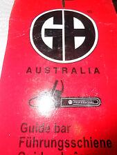 GUIDE BAR UHL 18-58SG SOLID SPOCKET NOSE BAR (AUSTRAILIA)