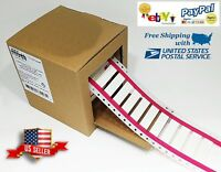 Heat Shrink Tube White 500 Printable Wire Labels For 10 - 2 AWG 16mm x 29mm