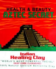 150g- aztec secret indian healing clay deep pore cleansing bentonite masks skin