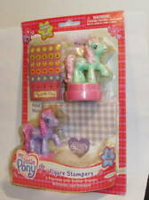 MY LITTLE PONY FIGURE STAMPERS SET MOC MIP 2005 HTF Rare MINTY PETAL BLOSSOM