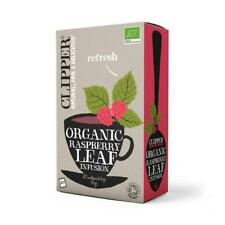💚 Clipper Organique Framboise Feuille Infusion 20 bags