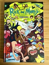 Rick and Morty Hardcover Book 4 SIGNED SKETCHED graphic novel comic remarked
