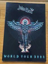 More details for judas priest 2005 world tour programme angel of retribution heavy metal