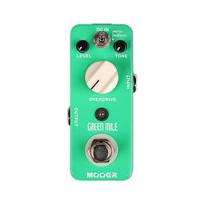 Mooer Green Mile Overdrive/Distortion Guitar Effects Pedal  Open Box