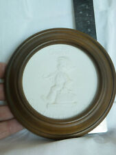 Goebel Hummel bisque disc plaque Collectors' Club member Tmk 5