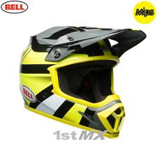 2018 Bell MX9 Marauder Hi Viz Yellow Motocross Race Helmet MIPS XSmall 53-54cm