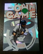2006 Topps Own the Game Hits Leaders Foil Ichiro Suzuki Mint See pics!
