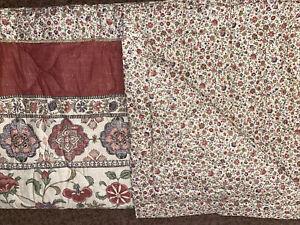 Kalamkari Reversible Bed Throw