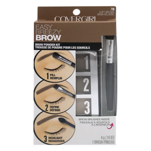 COVERGIRL Easy Breezy Brow Powder Kit  You Pick 705 710 715 720 Honey Brown