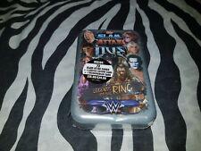 WWE Slam Attax Live Mega Tin LEGENDS OF THE RING Sealed NEW ring mat inside !
