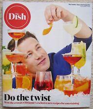 Jamie Oliver - The Dish magazine – Sunday Times food magazine – November 2016