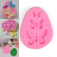 3D Butterfly Silicone Mold Fondant Cake Chocolate Mold DIY Baking Decor Supplies