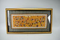 Vintage Chinese Framed Embroidered Hand Stitched Silk Hundred Children Playing