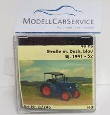 Saller Modelle (1/87) 87746: Hanomag R 40, blau, mit Dach - Straßenausführung