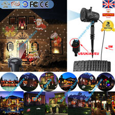 LED Outdoor Landscape Laser Projector Light 48 Patterns Garden Xmas Party Lamp