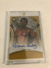 2018 Topps WWE Legends Norman Smiley Auto SSP #4/10