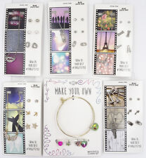 Lot of New Bling Rhinestone Necklace Earring Sets & Charm Bracelet #LOT9