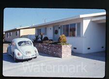 1969  35mm Photo slide  VW bug Volkswagen car automobile #2