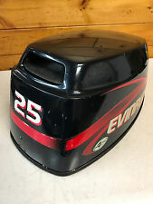 2001 Evinrude 25 HP 4 Stroke 3 Cylinder Hood Cover Top Cowl Freshwater MN