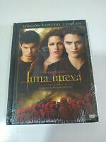 Saga Crepuscolo luna Nuovo 2 DVD+Libro Spagnolo Inglese nuevo