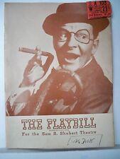 SWEETHEARTS Playbill BOBBY CLARK / MARJORIE GATESON / VICTOR HERBERT NYC 1947
