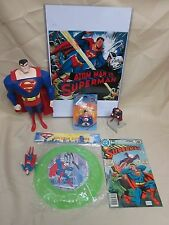 Superman Misc. Lot, Toys, Comic, Candle, Action Figure & more 030814ame4