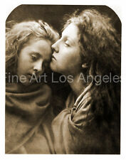 "Julia Margaret Cameron Photo ""The Kiss of Peace""  1869"