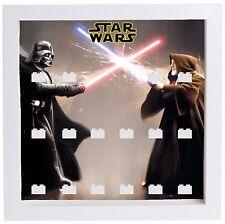 LEGO Minifigura VETRINA TELAIO Darth Vader Star Wars Obi Wan MINIFIGS