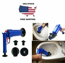 Drain Blaster High Pressure Air Pump Toilet Sink Plunger Pipes Clogged Remover