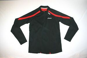 Asics Running 1/4 Zip Mock Neck Base Layer Shirt Men S NEW