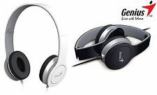 Genius HS-M430 Headset & Mic (Foldable, Call Switch) skype gaming music F05