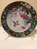 Vintage Lena Liu's Anna's Hummingbird Treasury Collectors Plate