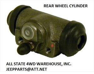 Jeep Rear Wheel Cylinder 90-99 Wrangler, 90-01 Cherokee XJ Reference # 4423601