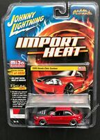 JOHNNY LIGHTNING 1998 Honda Civic Custom 1:64 Red