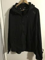 NEW Men's FILA Sport Black/grey Fleece 2.0 Black Jacket Size XL Full Zip
