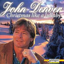 John Denver.  CHRISTMAS LIKE A  LULLABY CD.  * Bonus John Denver Christmas DVD !