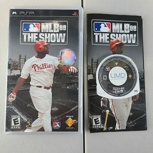 MLB 08 The Show PSP Sony Play Station Complete Buy 1 Get 1 25% OFF Free Ship
