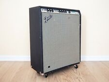 1972 Fender Bassman 10 Vintage Silverface Tube Guitar Amp 4x10 Oxford First Year