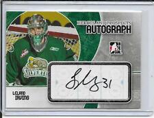 07-08 Heroes and Prospects Leland Irving Auto
