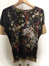 Vivienne Westwood Gold Label Floral Silk Tshirt