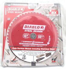 """Diablo D1050cfxz 10"""" 254mm 50 Teeth Steel Demon Ferrous Metals Saw Blade"""