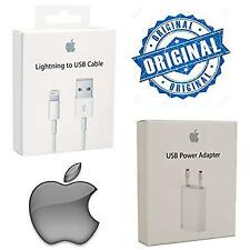 Genuine charger set for iPhone 5 6 7 X | Original Lightning cable + AC Adapter