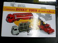 EDITIONS ATLAS DINKY TOYS : RELIURE A ANNEAUX POUR LES FICHES CAMIONS - EN TBE