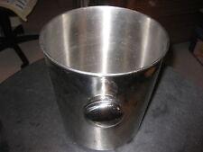 TCM Sektkübel Weinkühler a. Metall Edelstahl ca. 20cm hoch ca. 15cm DurchMesser